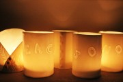 Christmas Message Tea Light Holdersclass=